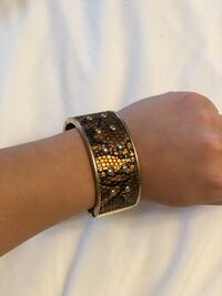 Gold-colored and diamond Bracelet Bradford, L3Z 3B4