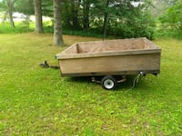 2 place snowmobile trailer Lake City, 49651