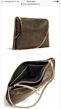 black and brown leather crossbody bag Chula Vista, 91910