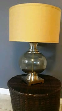 Bubble  glass table  lamp.