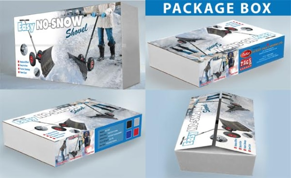 Easy No-Snow shovel box collage