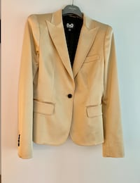 Jacket Dolce&Gabbana in satin Gold  Used couple of times size M (42) Vancouver, V6B 0A2