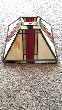 black and red wooden framed mirror Henderson, 89002