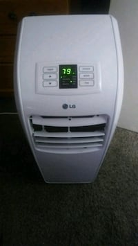 white LG portable air cooler Vallejo, 94591