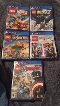 PS4 sealed games LEGO editions Lethbridge, T1H 2G6
