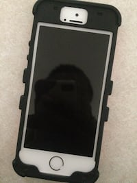 silver iphone 5s with black case Greensboro, 27405