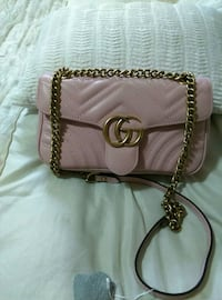women's pink Guess leather sling bag Mississauga, L5T 2R6