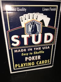 STUD Collectible Poker Playing Cards Mississauga, L5N 4B7