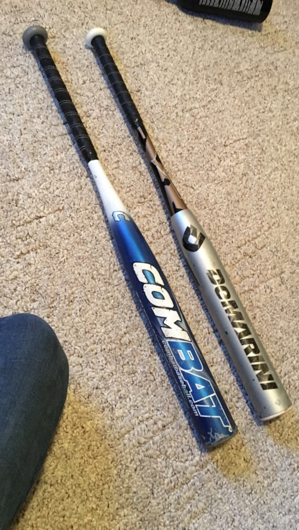 Baseball Bats For Sale >> Used Two Demarini Nand Combat Baseball Bats For Sale In Dale Letgo
