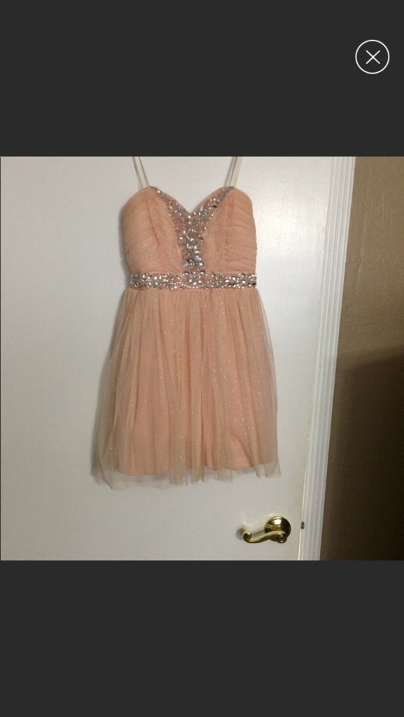 NWT WINDSOR Red Evening Prom Party Cocktail Dress 5