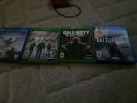 2 xbox one games and 2 ps4 games Halifax, B3M 1E4