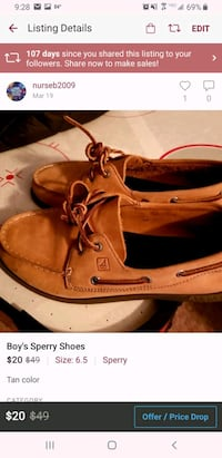 Boys Sperry