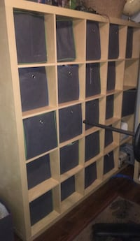 IKEA shelving paid $500 - selling for $200 - comes with 10 bins