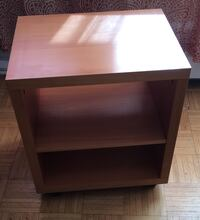 Brown wooden mobile table Toronto, M3C 2L3