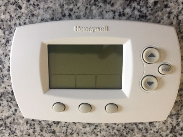 white Honeywell thermostat STAFFORD