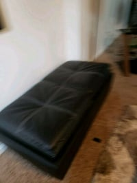black leather 3-seat sofa Wilkes-Barre, 18702