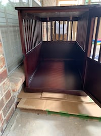 End table dog crate Fort Worth, 76109