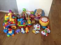 Toddler's assorted fisher price, little tykes..and more.. Salford, M5 5JB