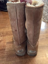 pair of brown UGG boots Vaughan