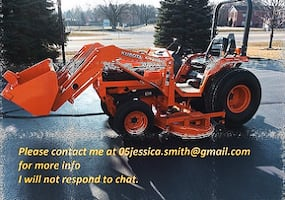 2OO1 Tractor Kubota B2710HST 4x4 has roughly 320 hours on the meter. Just serviced  tires are good no rushed