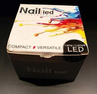 Lampe LED Pour Vernis Gel Polish Nail Lamp Professional NEW/ NEUF Great for gel and shellac nails $5 Ville Saint Laurent Montreal