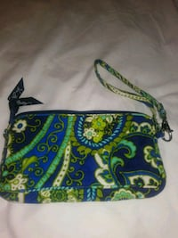 blue, green, and white Vera Bradley wristlet Arlington, 22204