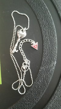 Sterling silver GUESS Necklsce