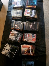 Lot of dvd's ( 92 DVD's) Bowie, 20716