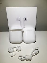 Apple AirPod charging case and accessories