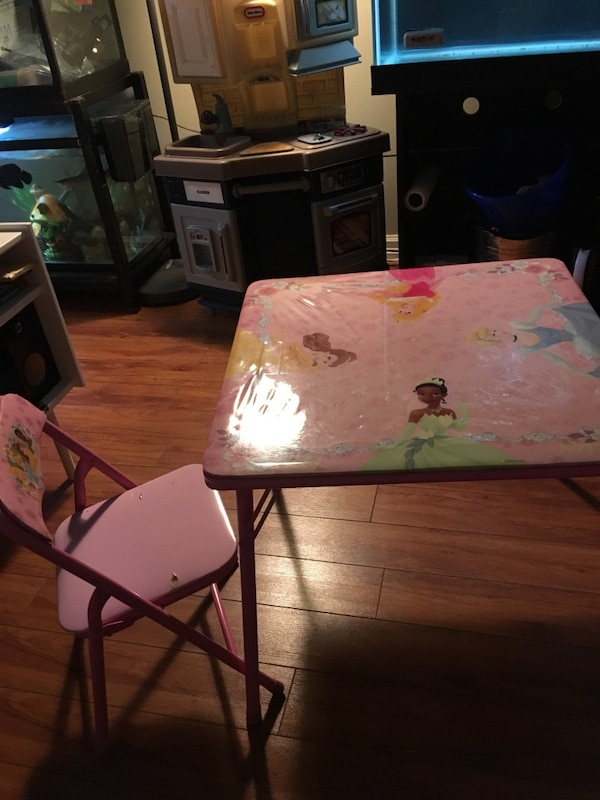 Cool Used Square Pink Disney Princess Table And Chair Set For Caraccident5 Cool Chair Designs And Ideas Caraccident5Info
