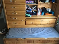 Bunk bed with tons of storage Harvey