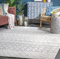 Moroccan area rug Grey 8 ft. x 10 ft. - BRAND NEW Milton, L9T 6S3
