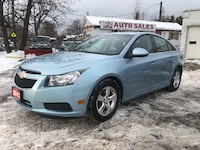 2011 Chevrolet Cruze LT Turbo/Automatic/Bluetooth/Certified Scarborough, ON M1J 3H5, Canada
