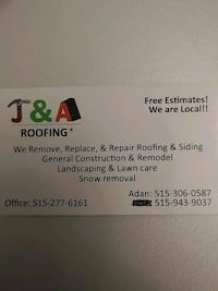 Free estimates Des Moines, 50312