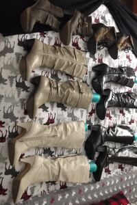 Women's 7&1/2 boots and booties