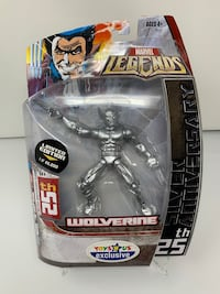 "Vintage Limited Edition 25th Silver Anniversary Wolverine Action Figure (Toys ""R"" Us Exclusive[RIP])"