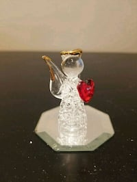 Exquisite tiny crystal angel and display mirror  Barrie, L4N 6J6