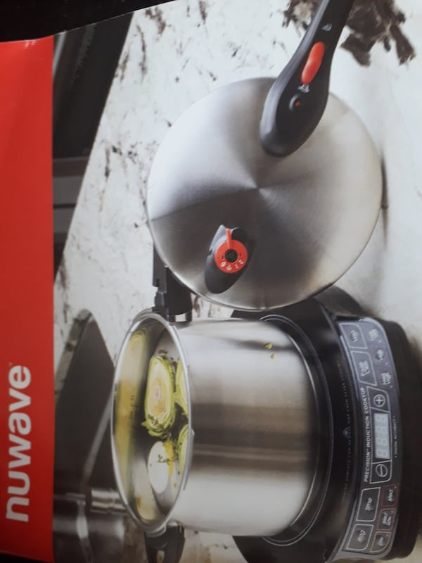 NuWave stainless steel pressure cooker 114f5246-5148-4f34-8519-3003eb8ac266