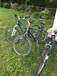 Blue and white hardtail mountain bike Lanham, 20706