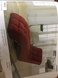 red and black fabric sofa chair Beltsville, 20705