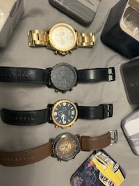 4 Fossil watches Toronto, M3L 2A6