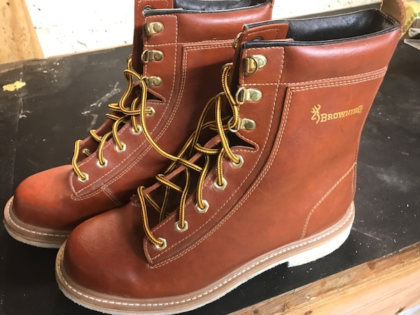 98d997dc819 Browning felt sole wading boots. Never been used.