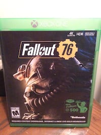 Fallout 76 Xbox one game. Omaha, 68111