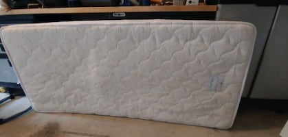 """twin mattress 5""""thick made for sleeper depicted (not for sale)"""