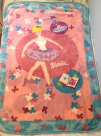 Fleece Barbie Blanket Burlington, L7M
