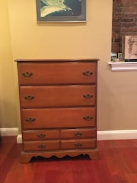 Mahogany 4 Drawer Bureau  Boston, 02125
