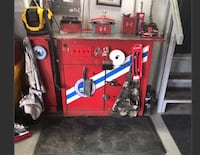 Red and black craftsman tool cabinet Halton Hills, L7G 0B1