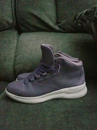 Womens high top purple under armour shoes new