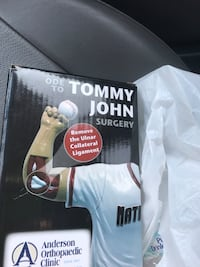 Potomac Nationals ode to Tommy John figurine not bobblehead Manassas, 20112