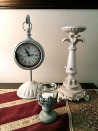 Home Decor Bundle: Clock & Candle Holders Lake Forest, 92630
